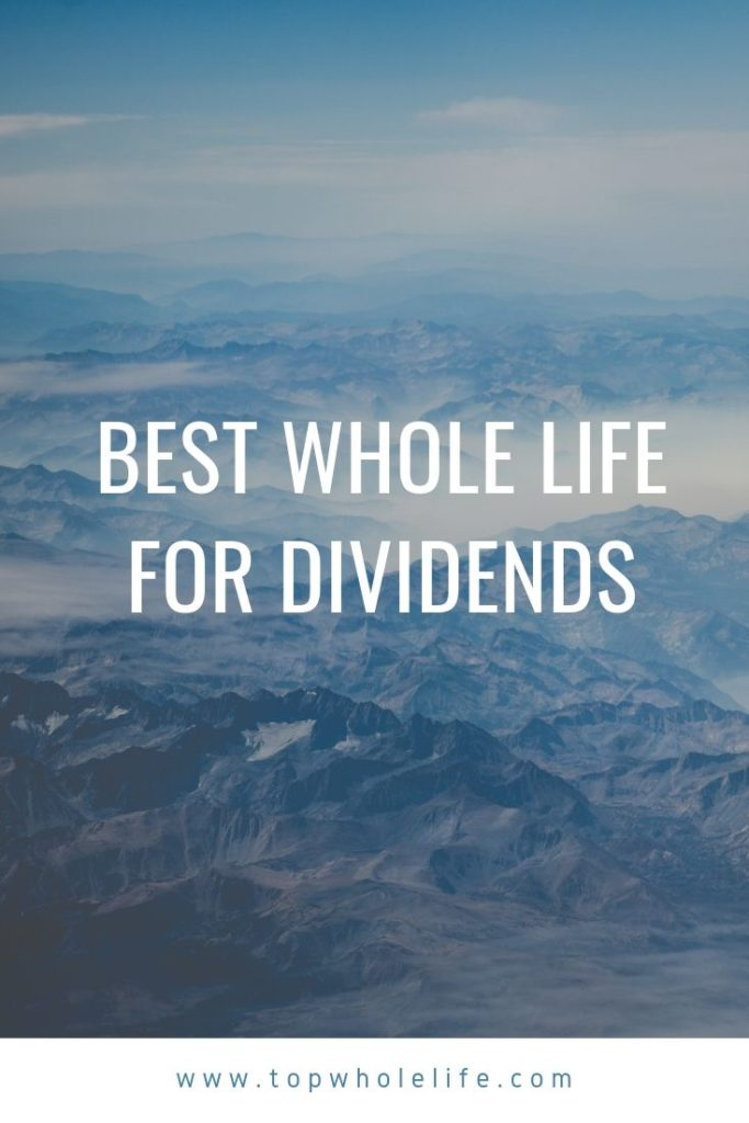 Best Whole Life For Dividends