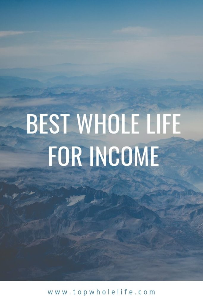 Best Whole Life For Income
